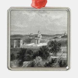 Lucknow, grabado por E.P Brandard, c.1860 Adorno Para Reyes