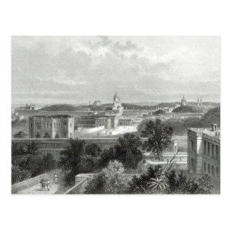 Lucknow, grabado por E.P Brandard, c.1860 Tarjeta Postal