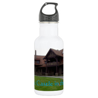 Lucknow, The Castle In The Sky Stainless Steel Water Bottle