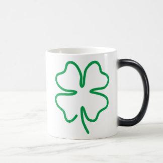 Lucky 11 Oz Magic Heat Color-Changing Coffee Mug