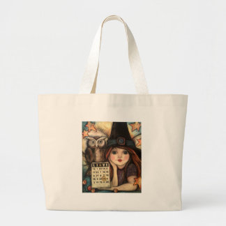 Lucky 13 Bewitching Fairy Magic Large Tote Bag