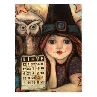 Lucky 13 Bewitching Fairy Magic Postcards