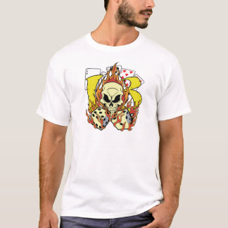 Lucky 13 Dice and Skull T-Shirt