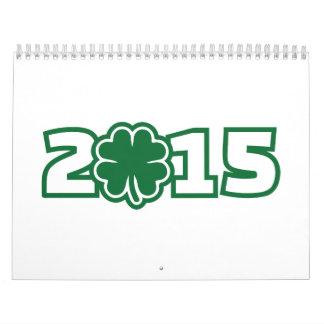 Lucky 2015 calendar