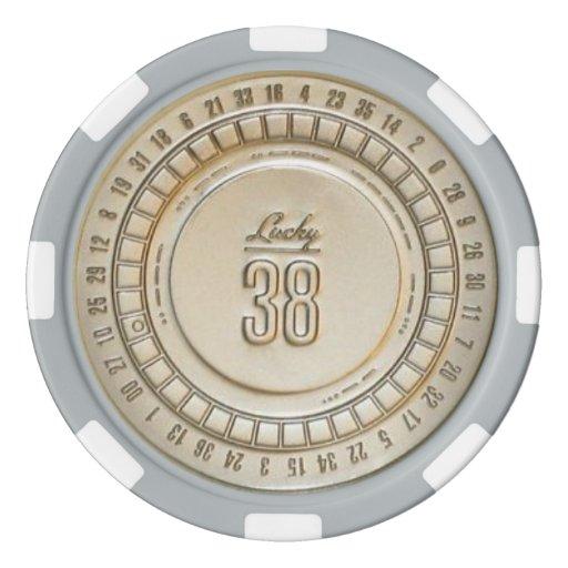 Lucky 38 poker chip
