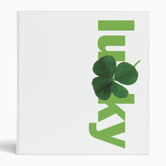 Lucky 3 Ring Binder
