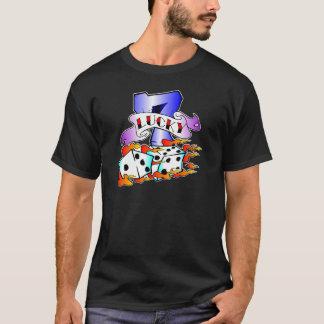 Lucky 7 & Dice Tattoo T-Shirt