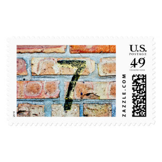 Lucky 7 postage stamp