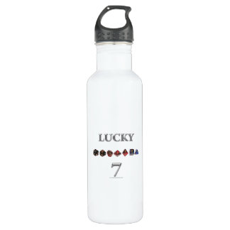 Lucky 7 water bottle