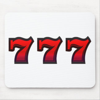 Lucky 7s mouse pad