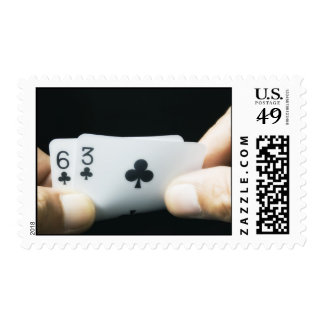 Lucky 9s - 6 & 3 of Clubs Postage