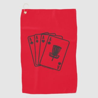 Lucky Ace Disc Golf Towel