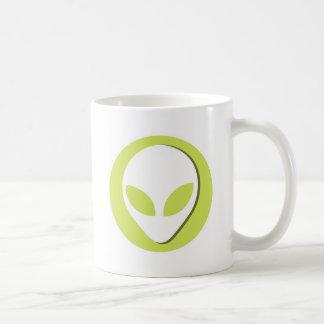 Lucky Alien (Green) Coffee Mug