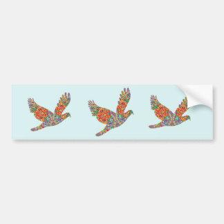 LUCKY Angel Bird Bumper Sticker