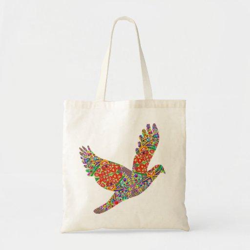 LUCKY Angel Bird Canvas Bag