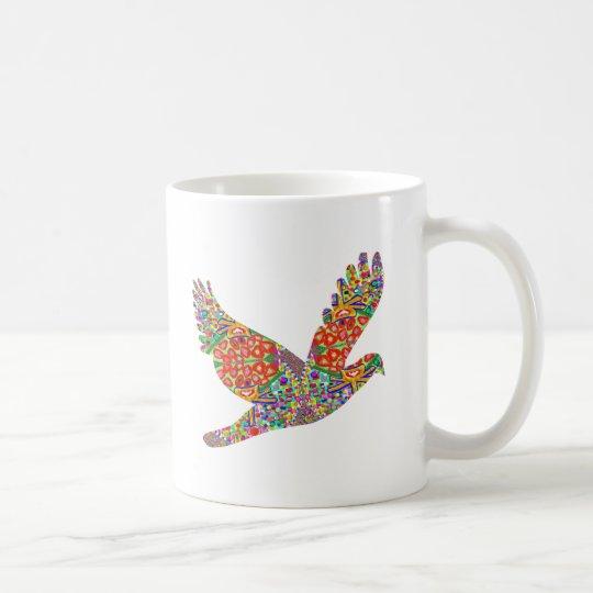 LUCKY Angel Bird Coffee Mug