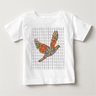 LUCKY Angel Bird Texture by Navin Joshi Artist Baby T-Shirt