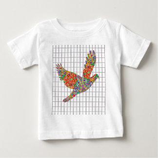 LUCKY Angel Bird Texture by Navin Joshi Artist Tee Shirt