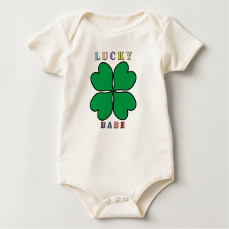 Lucky Babe in Body starting from 6 months Baby Bodysuit