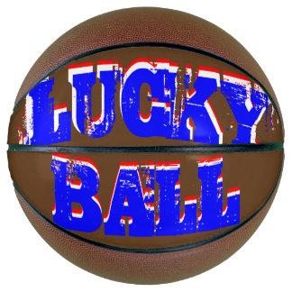 Lucky Ball USA Flag Colors Basketball