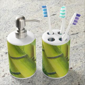 Lucky Bamboo Bathroom Set