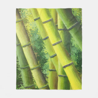 Lucky Bamboo Fleece Blanket