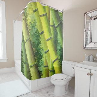 Lucky Bamboo Shower Curtain