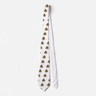 Lucky Bigfoot Leprechaun Neck Tie