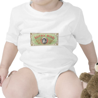 Lucky Bill Vintage Image Infant Creeper Template