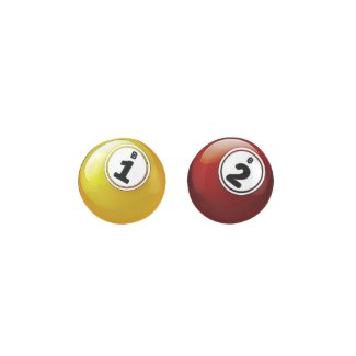 Lucky BINGO Balls Earrings