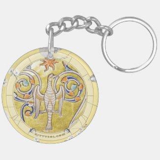 Lucky Bird | Zodiac keychain