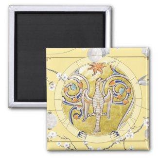 Lucky Bird | Zodiac magnet