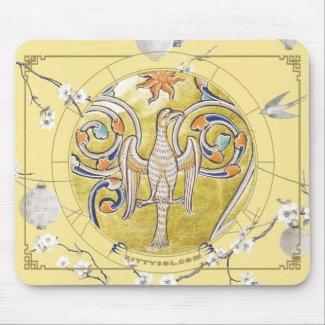 Lucky Bird | Zodiac mousepad