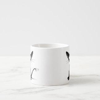 Lucky Black cat Espresso Mug