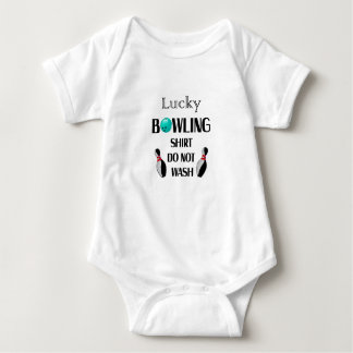 Lucky Bowling Gift For Mom Mothers Day Baby Bodysuit