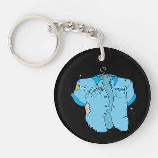 Lucky Bowling Shirt Keychain