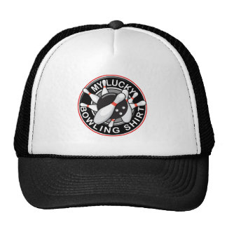 Lucky Bowling Shirt - Non-Distressed Trucker Hat