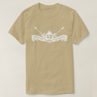 Lucky Boys Don't Play Rock and Roll Ace of Spades T-Shirt