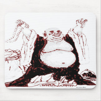 Lucky Buddha Mousepad