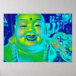 """""""Lucky Buddha Poster"""""""