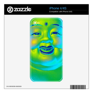 """Lucky Buddha"" Skins For The iPhone 4S"