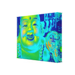 """""""Lucky Buddha"""" Stretched Canvas Prints"""