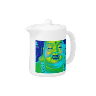 """""""Lucky Buddha"""" Teapot"""