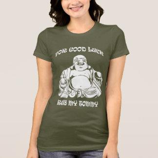 Lucky Buddha Woman T-shirt