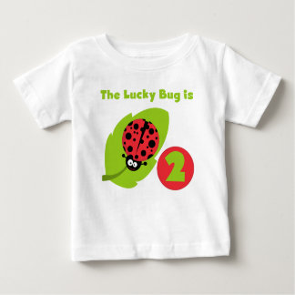 Lucky Bug 2nd Birthday T-shirts and Gifts