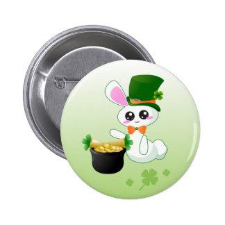 Lucky Bunny Pins