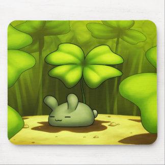 Lucky Bunny Mousepad