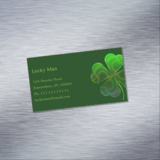 Lucky Business Card Magnetic Business Cards (Pack Of 25)
