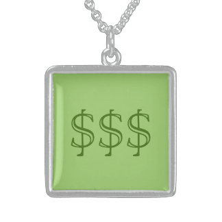 Lucky Cash Green Necklace