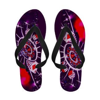 Lucky casino Gambler Flip-Flops